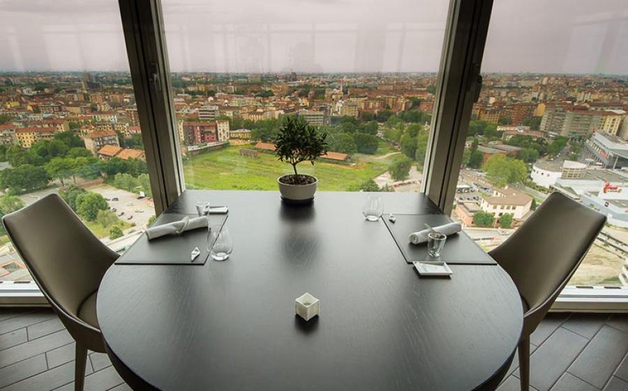 Unico Milano: il ristorante panoramico di Milano
