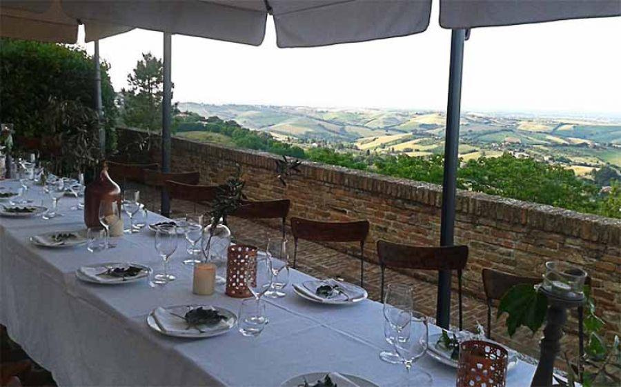 Borghi più Belli d'Italia all'Osteria dell'Accademia di Montegridolfo