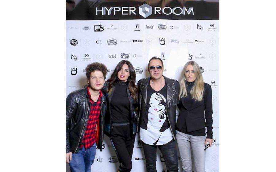Hyper Room a Milano presenta i nuovi brands di design, art e arredamento con Valeria Marini ospite speciale