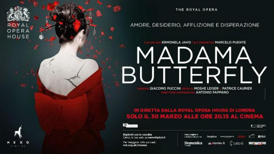 Madama Butterfly, arriva la diretta dalla Royal Opera House