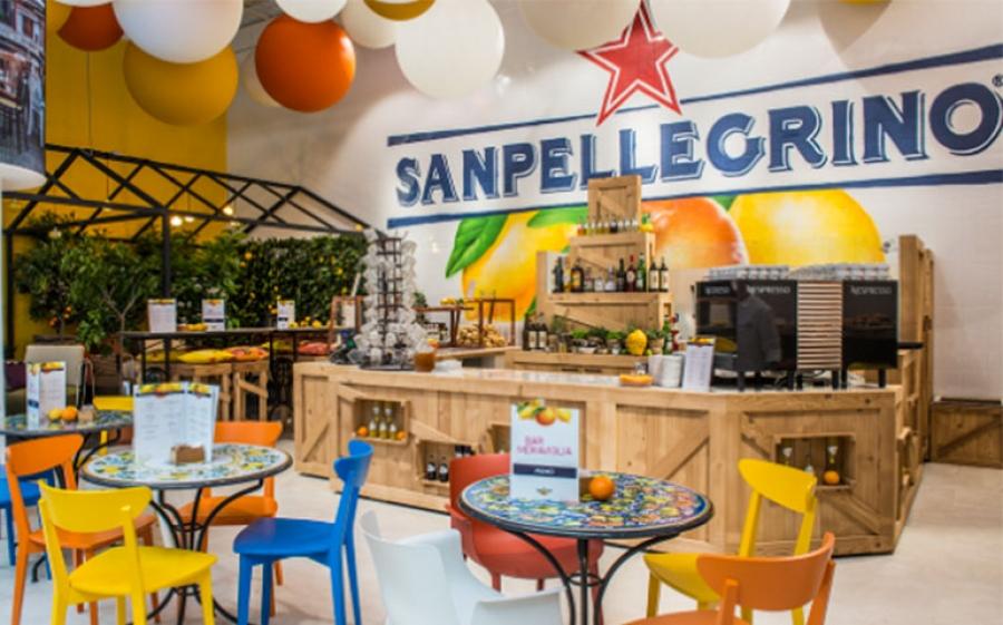 Apre a Milano il Bar Meraviglia, il primo temporary bar delle bibite Sanpellegrino