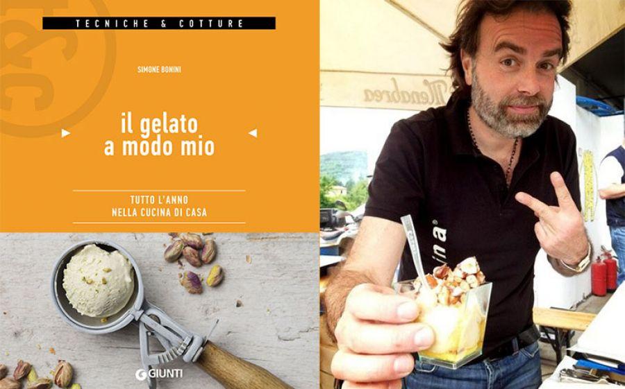 """Simone Bonini parte con il road show del libro """"Il gelato a modo mio"""""""