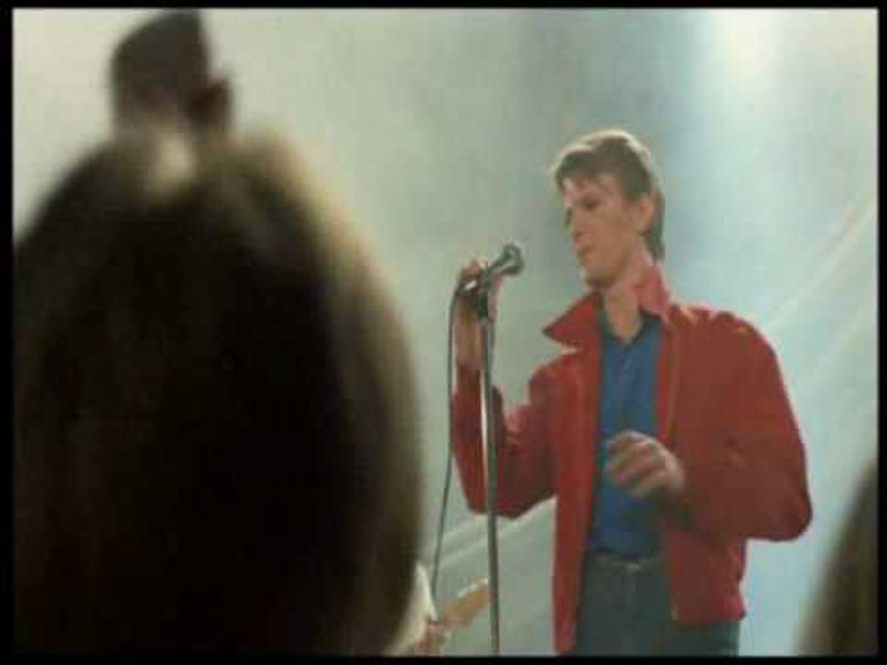 "David Bowie in ""Christiane F. - Noi, i ragazzi dello zoo di Berlino"""