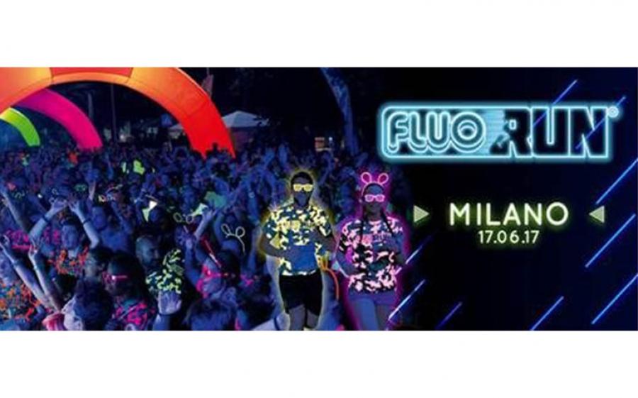 La Fluo Run colora Milano con la musica di Peligro