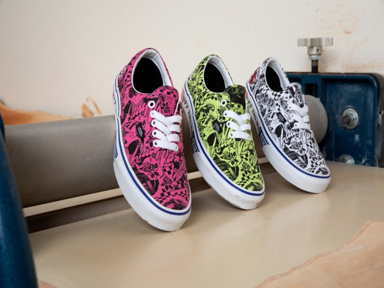 Lady Vans Era Collection Elevated
