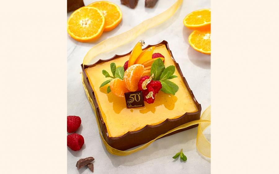 Torta Arancia a Specchio