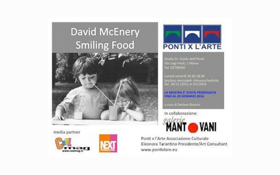 Smiling Food: La mostra dedicata a David McEnery