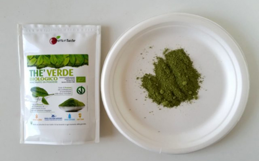 Ricetta tartufi al tè verde macha