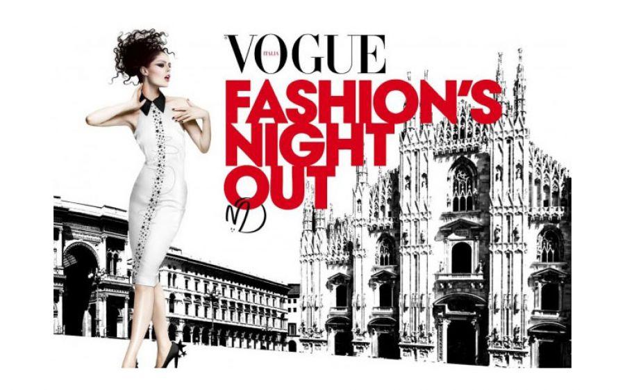 Vogue Fashion's Night Out 2014 @ Milano