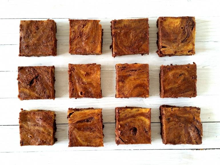 Brownies alla zucca di Bettina in cucina