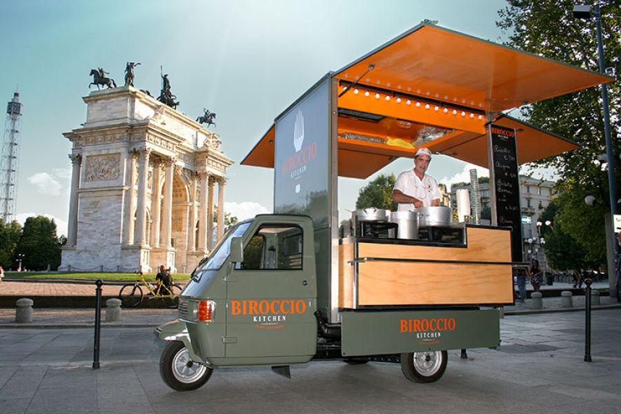 Biroccio Street food Milano