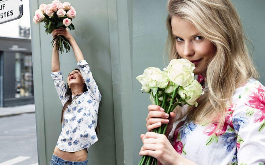 La moda che non passa: grazie dei fiori