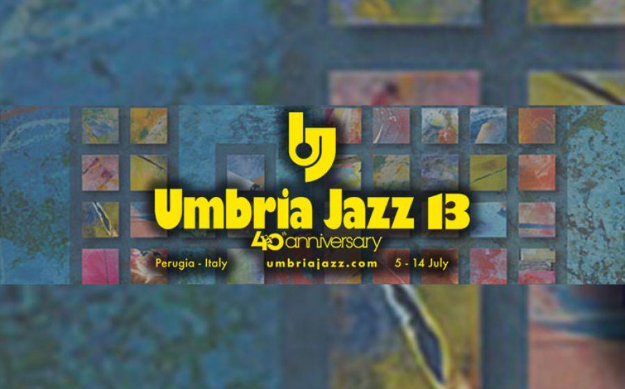 Festeggiate con noi il 40esimo anniversario dell'Umbria Jazz!