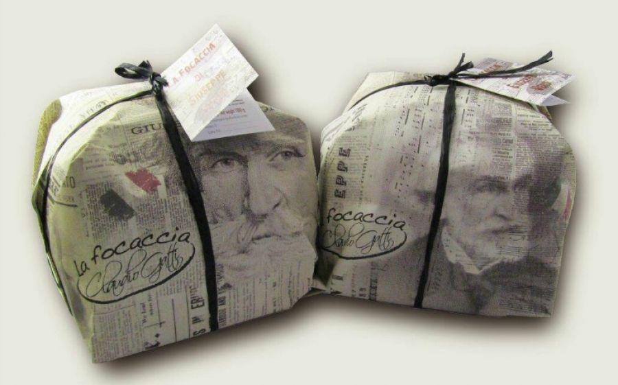 La focaccia dolce della Pasticceria Tabiano dedicata a Giuseppe Verdi