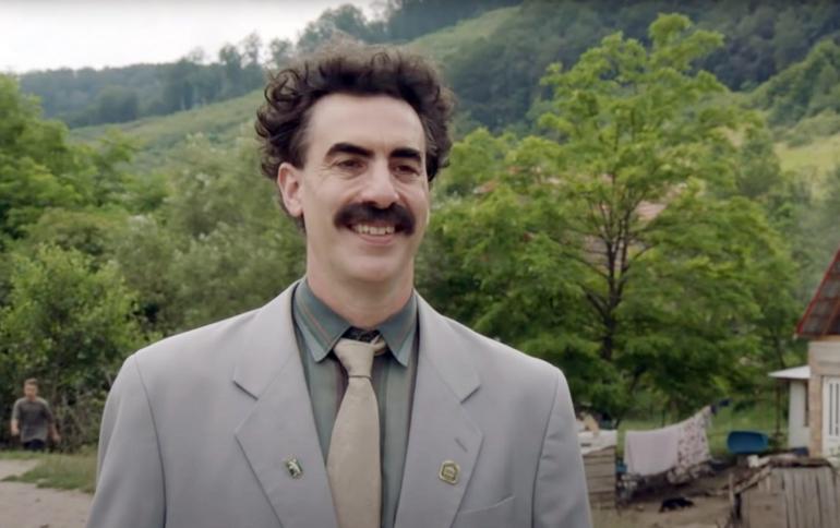 """""""Borat Subsequent Moviefilm"""", il sequel di Borat da oggi su Prime Video"""