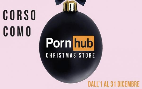 PornHub segno in