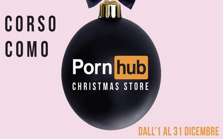 A Milano apre Pornhub Christmas Store, il primo temporary shop dedicato al porno