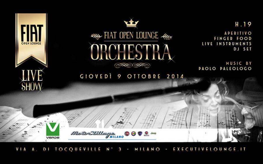 Aperitivo Musicale da Fiat Open Lounge