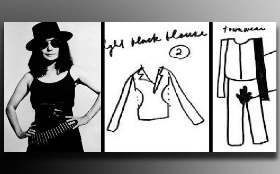 Yoko Ono veste John Lennon