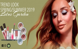 Lotus Garden SS19 e l'inno all'armonia con la natura by Make-Up Factory