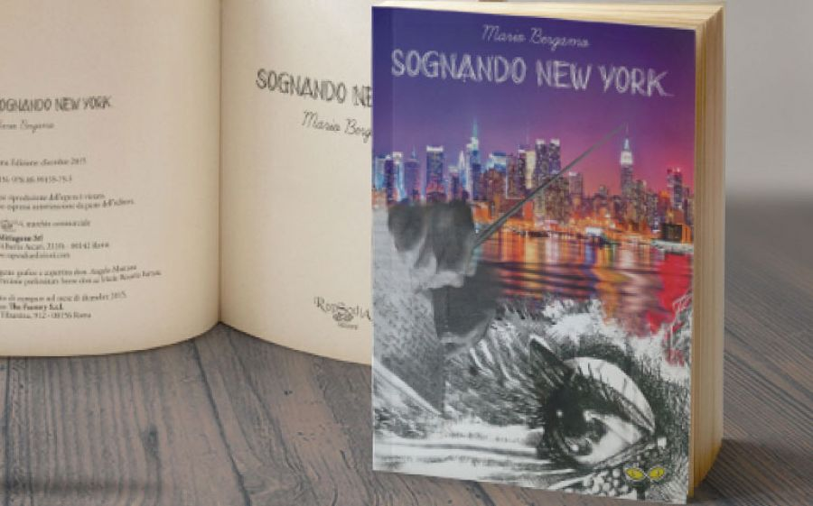 """""""Sognando New York"""" romanzo d'esordio di Mario Bergamo"""