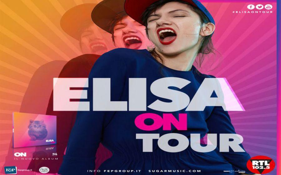 """Elisa """"On Tour"""": si aggiungono nuove date dei live di Novembre ed arriva anche a Milano"""