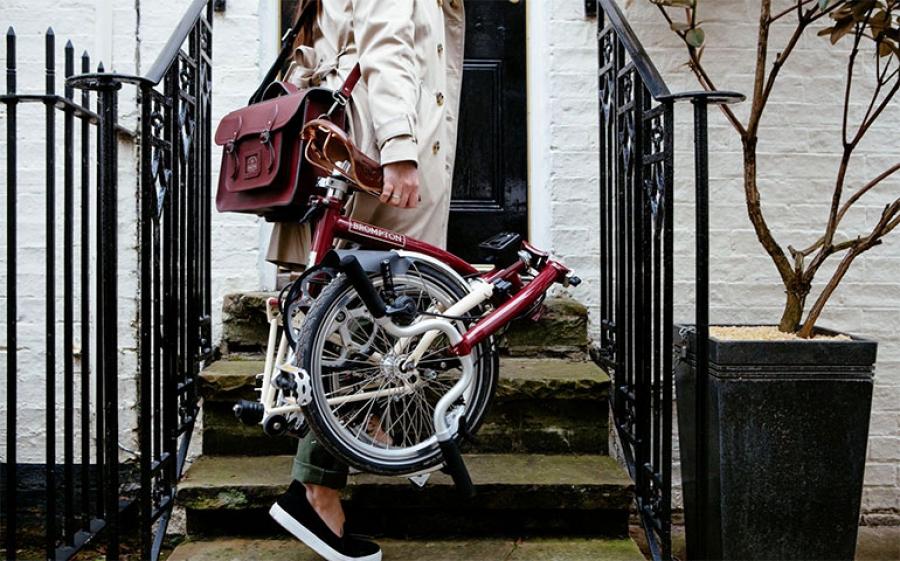Al Fuorisalone ci saranno anche le famose biciclette pieghevoli firmate Brompton