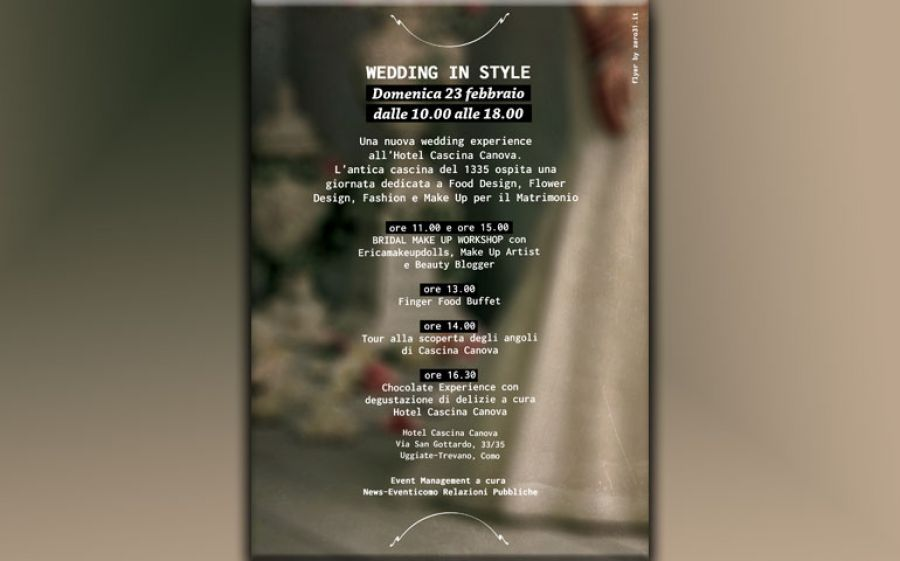 Wedding in Style: una nuova wedding experience.