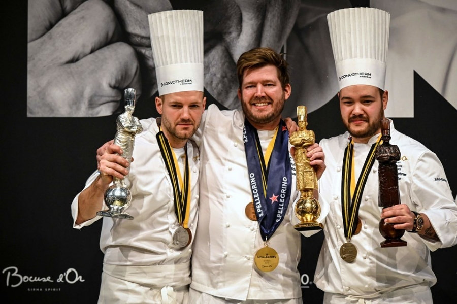 Finale Bocuse d'Or 2019: vince la Danimarca con Kenneth Toft-Hansen
