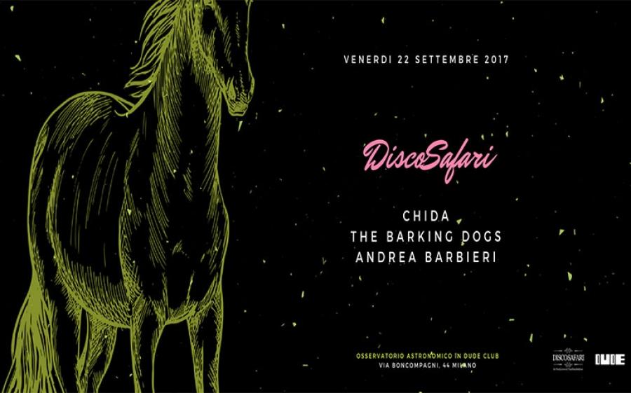 Dj Chida ospite al Discosafari Dude Club (MIlano)