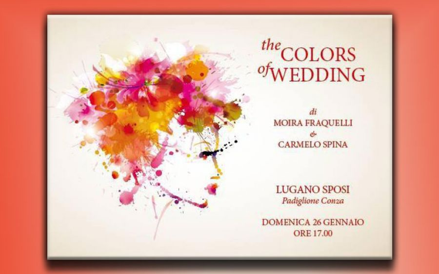 The colors of wedding, lo show di Moira Fraquelli e Beat Wust andato in scena a Lugano sposi