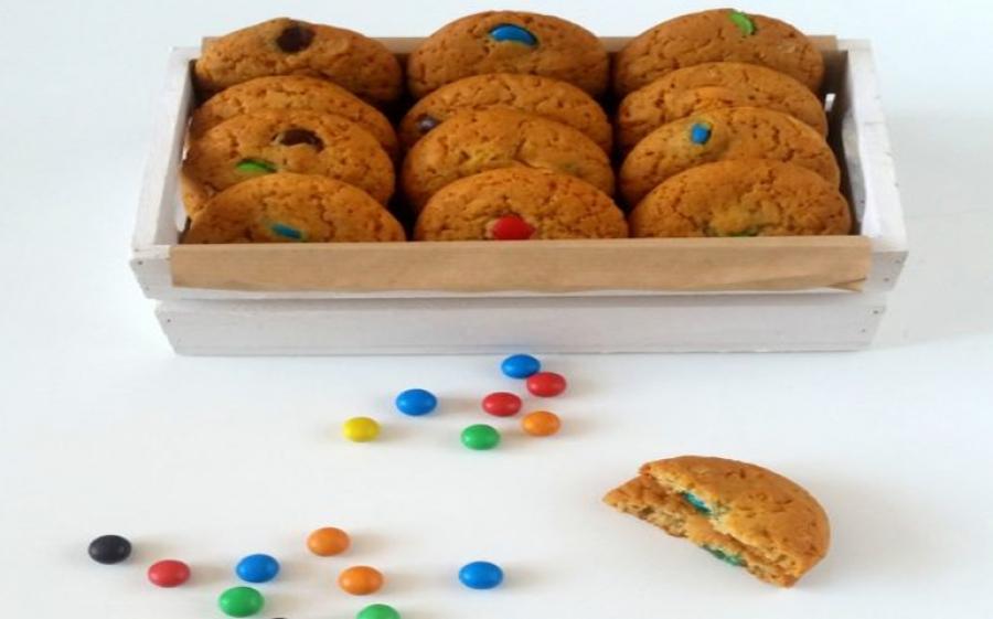 Ricetta cookies con M&Ms