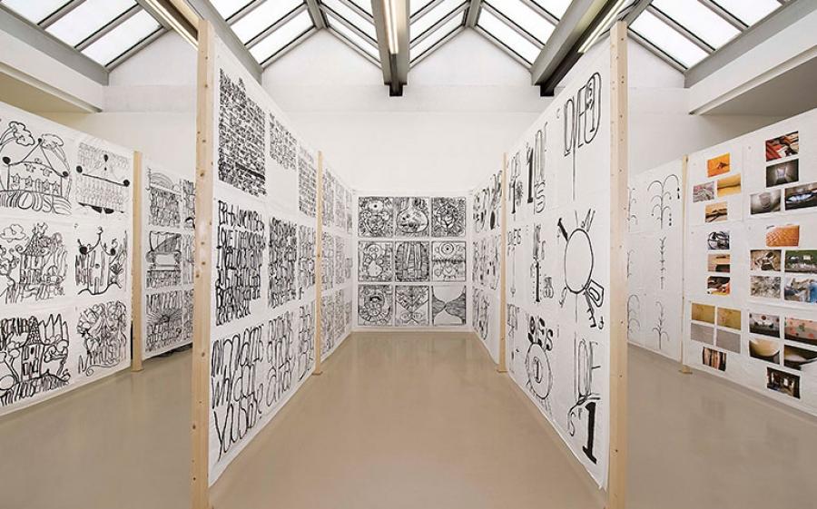 Matt Mullican in mostra all'HangarBicocca di Milano