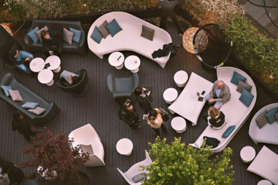 11rooftop opening party: The Marble Terrace