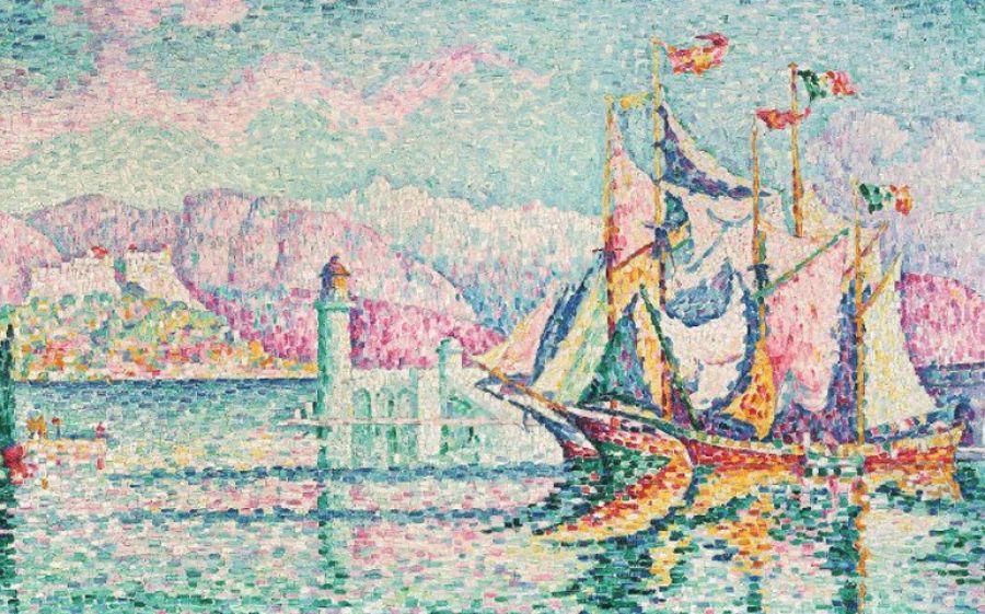 Paul Signac Riflessi sull'acqua, l'arte del Pontillisme al MASI di Lugano