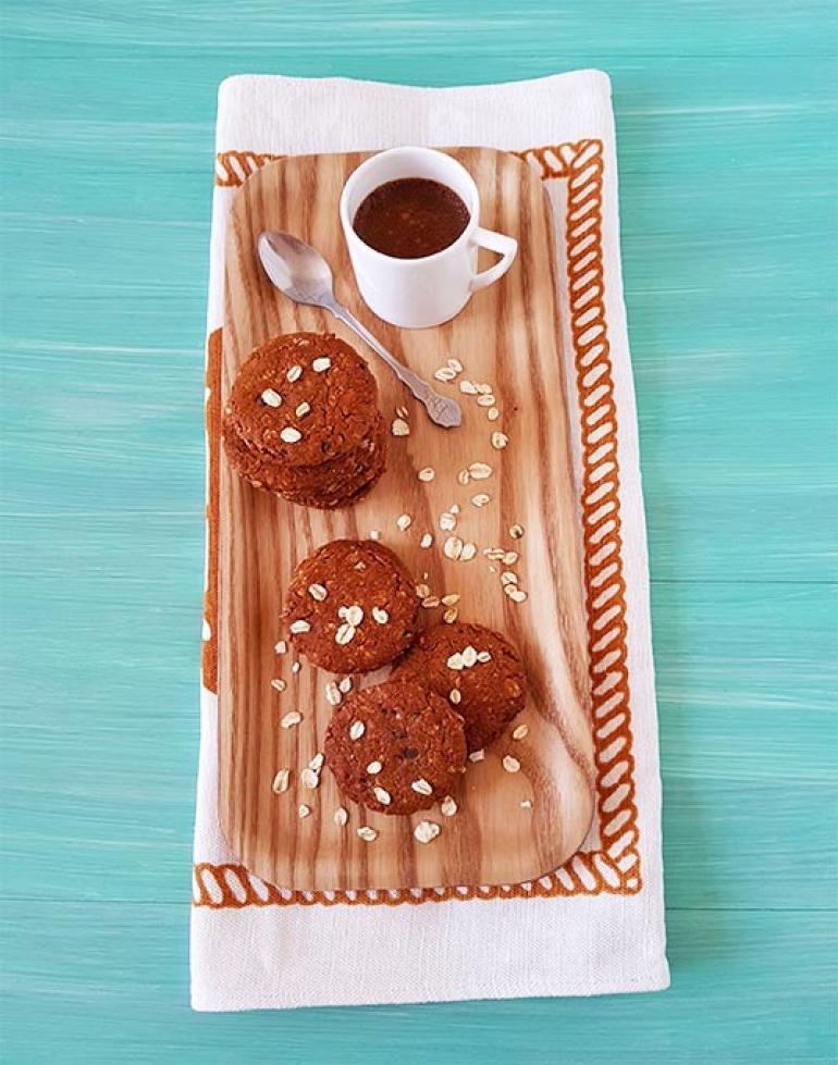 Biscotti Anzac, con fiocchi di avena e cocco