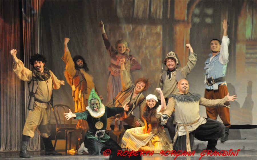 Al teatro Luna si respira aria natalizia con Rapunzel e lo Il magico show di Natale