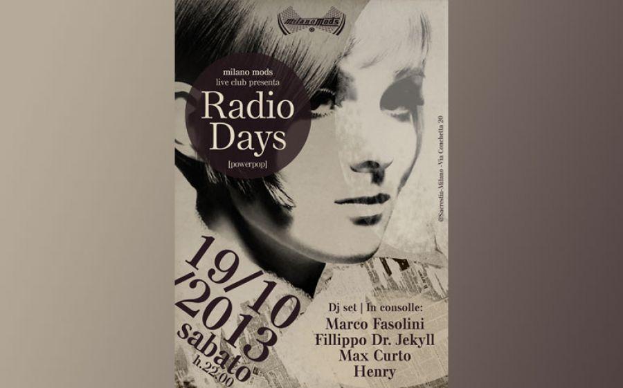 MilanoMods live club-RADIO DAYS live + djs@Sacrestia
