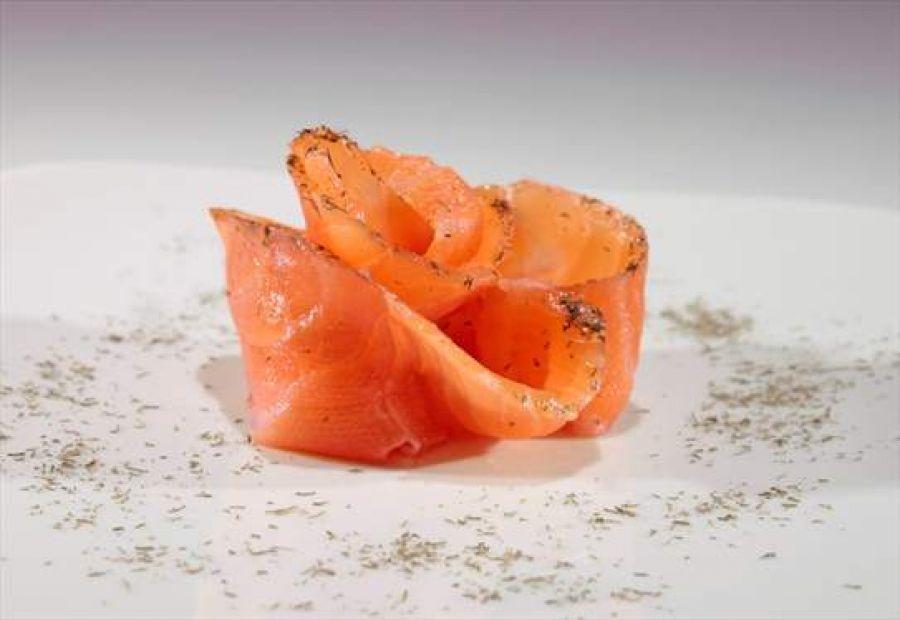 Tartare di Salmone Gravad