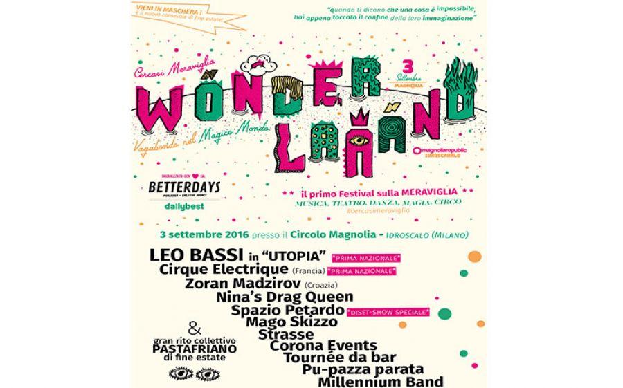 """""""Cercasi Meraviglia"""" al Circolo Magnolia di Milano con il Wonderlaaand Festival"""