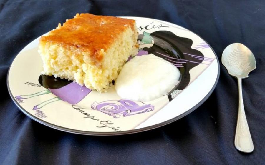 Ricetta torta soffice all'ananas e cocco con caramello al rum