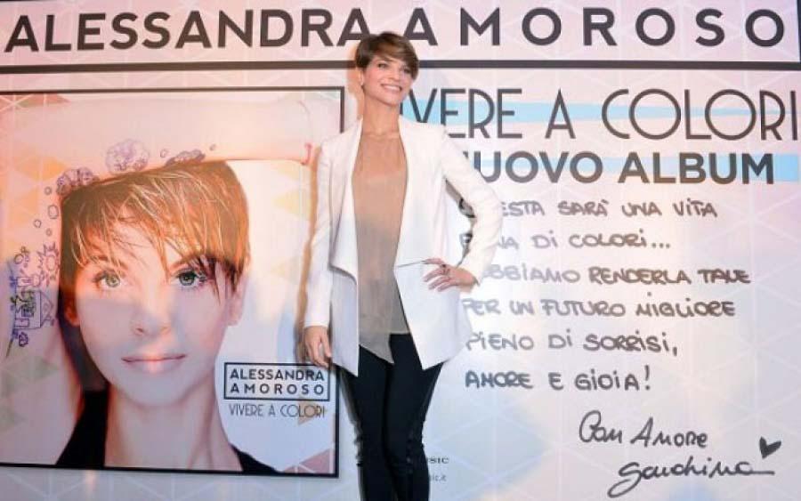 """Alessandra Amoroso: """"Ora voglio VIVERE A COLORI"""""""