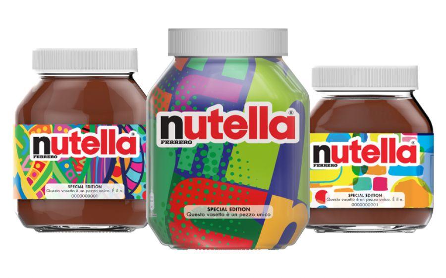 Nutella lancia la limited edition: sette milioni di pezzi unici