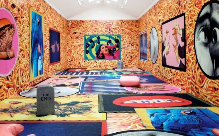 Seletti Wears TOILETPAPER, il pop up store a Milano di tappeti design