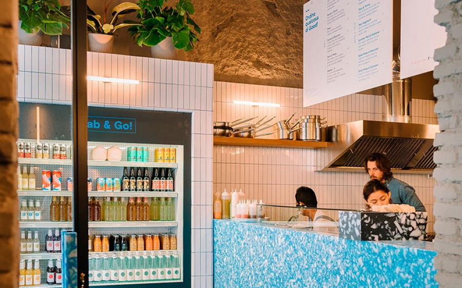 Good Blue, L'healthy fast food milanese che ha a cuore l'oceano