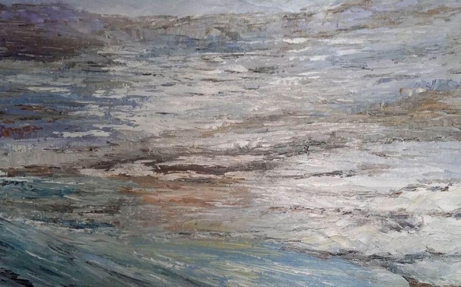 Allo Spazio Porpora di Milano la mostra Tra Nostalgia e Memoria della pittrice Maristella Laricchia