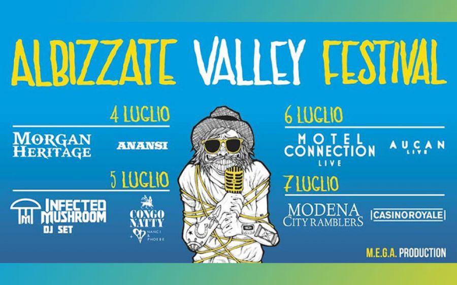 Albizzate Valley Festival dal 4 al 7 luglio: una tre giorni di sport e musica!