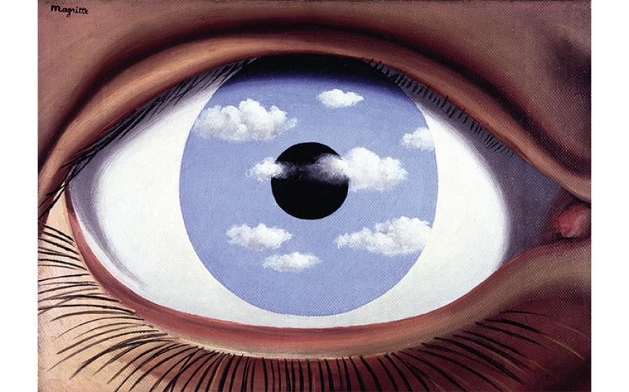 René Magritte, Il falso specchio