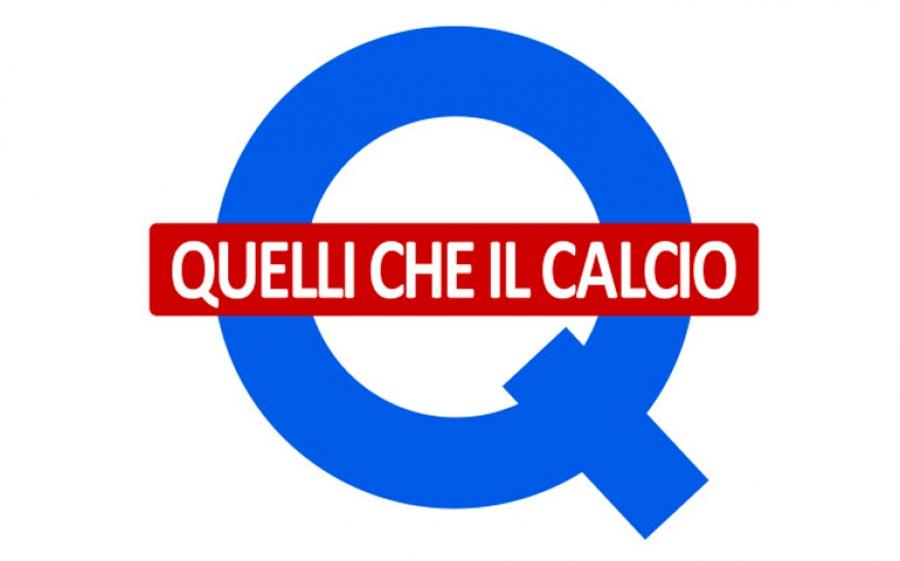Luca e Paolo conducono insieme a Mia Ceran la 25esima edizione di Quelli Che Il Calcio in onda su Rai2