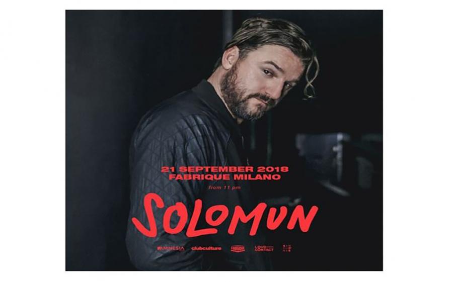 SOLOMUN @ FABRIQUE